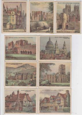 Wills Cigarette cards - The Nations Shrines