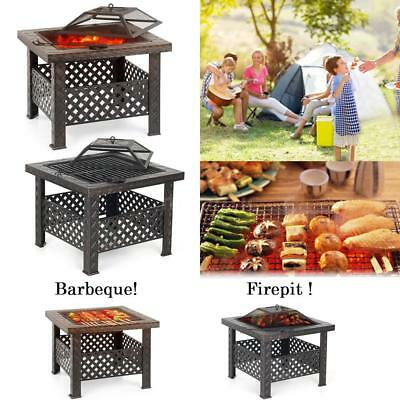 Barbecue Valise Grill BBQ Camping Barbecue Charbon De Bois Barbecue Neuf Y1M6