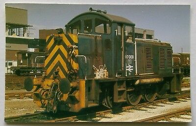O.P.C. Collectors No.32 Class 07 Shunter 07 008 Southampto 1970s Postcard (P309)