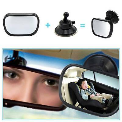 360°Car Safety Seat Mirror View Back Baby In-Signt Rear Ward Facing Care Child