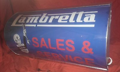 lambretta,scooter,lightup,sign,illuminated,display,mancave,garage,motorcycle,gp