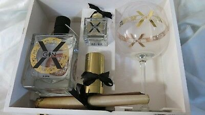 X-Gin Aphrodisiac Cocoa Based Passion in a Bottle Gift Box Set from Belgium BNIB