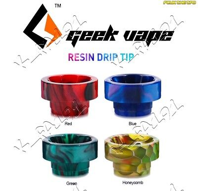 100% Genuine GeekVape Resin 810 Drip Tip Compatible 810 with Internal Oring