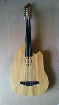 Moroccain PROFESSIONAL ELECTRIC OUD UD STRING INSTRUMENT