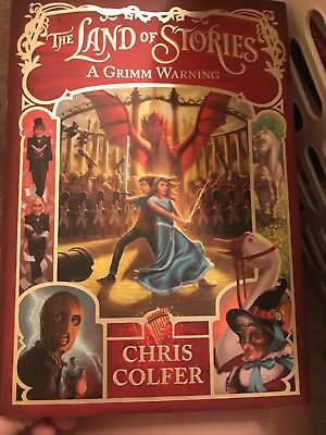 The Land Of Stories A Grimm Warning 3 By Chris Colfer 2015