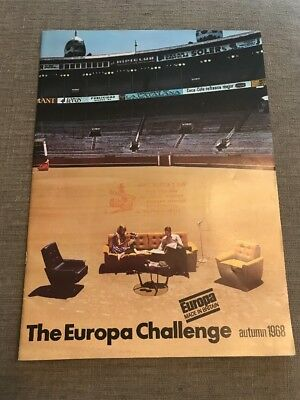 Vintage Mid Century 1968 Europa Furniture Catalogue - Great Reference for Design