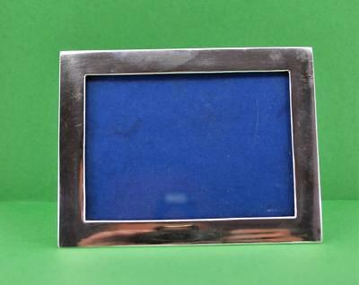 Antique Wang Hing Chinese Export Sterling silver Photograph Frame 11.5 x 9 cm w