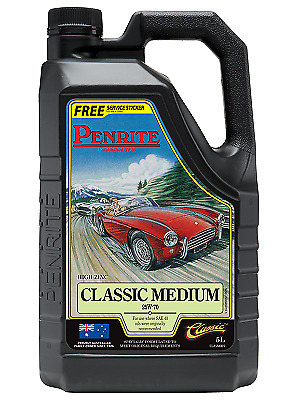 Penrite Classic Medium 25W / 70 5 Litres, High Performance Premium Mineral