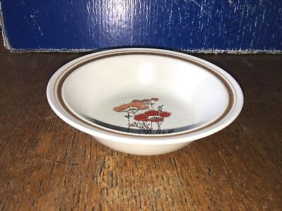 Royal Doulton Lambethware Fieldflower LS1019 Cereal Bowl 15.8cm diameter 4.5cm h
