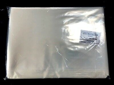 ULINE 12 x 18 Poly bags Shirt Bags 2 Mil Industrial Clear Plastic Open Top