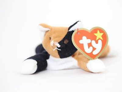a4d8f4e0b2f TY BEANIE BABY Chip The Cat -  7.49