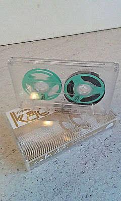Compact  Cassette   Reel to Reel ( Farbe grün ) Audio Cassette Compact  Cassette