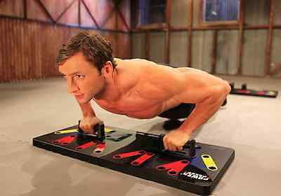 Power Press Push Up - Complete Push Up Training System (ORIGINAL MANUFACTURER)