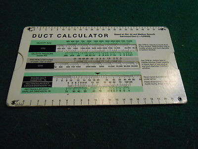 1997 Carrier DUCT CALCULATOR HVAC Design Aid