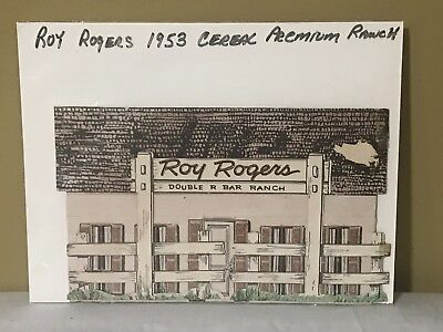1953 Post Cereal Roy Rogers Ranch Premium