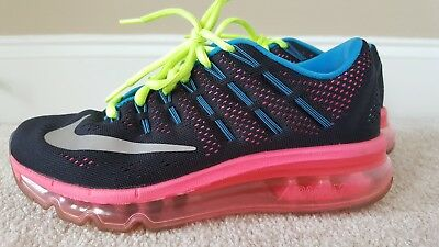 Nike Air Max 2016 GS Running Shoes Youth US 4 Women s US 5.5 Pre-ow807237 2e9e02abc9