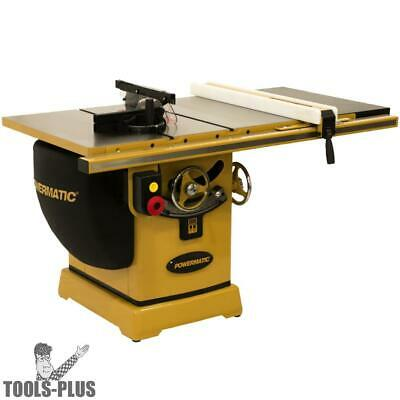 "Powermatic PM25350WK 230/460V 50"" RIP Table Saw 5HP 3PH w/Workbench New"