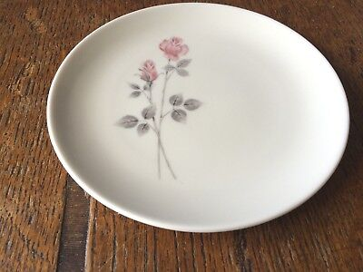 Royal Doulton Pillar Rose TC 1011 Tea Plate 16 cm diameter