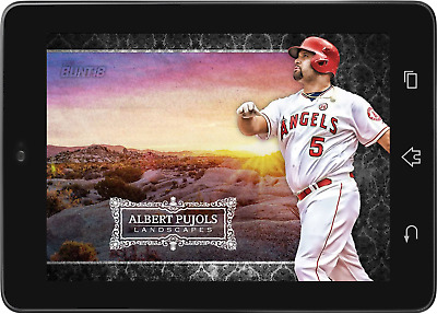 Topps BUNT Albert Pujols Landscapes AL 2018 [DIGITAL CARD] 250cc