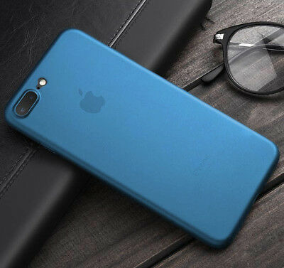 "BLUE Apple iPhone PhoneSKINe iPhone Case 0.02"" Ultra thin perfect fit Silicone"