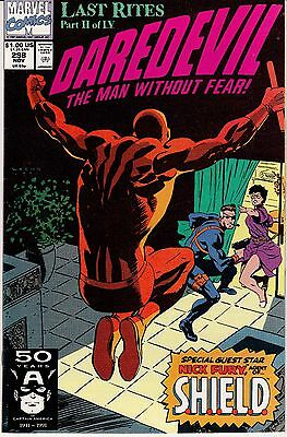 Daredevil #298 (Nov 1991, Marvel) Nick Fury