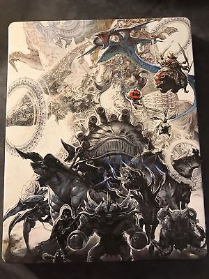 Final Fantasy XII 12 Zodiac Age Collector's Edition Steelbook + DLC + Game + OST