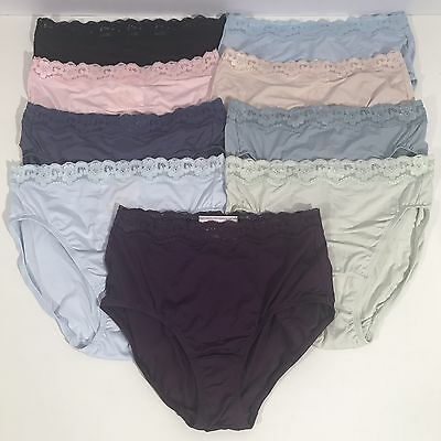 779898a60a82 OLGA PANTIES MEDIUM Without A Stitch Lace Trim Nylon Brief - $8.99 ...