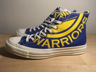 38a406efa9e0 Converse All Star 70 Hi NBA Golden State Warriors Game Day size 12 Limited  1