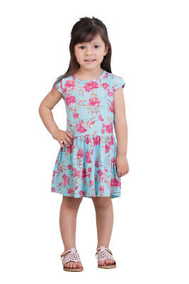 2d5533c95 PULLA BULLA TODDLER Girl Floral Style Pleated Dress -  10.12