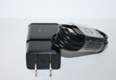Original Samsung Galaxy S9 S8 S8plus Note 8  Fast OEM Wall Charger+Type C-CABLE