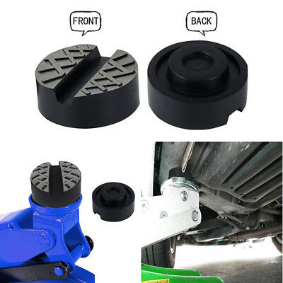 Car Jack Rubber Pad Universal Rubber Pad For Hydraulic Trolley Jacks Black