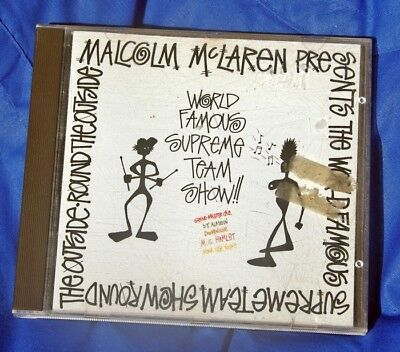 MALCOLM McLAREN ..WORLD FAMOUS SUPREME TEAM SHOW.