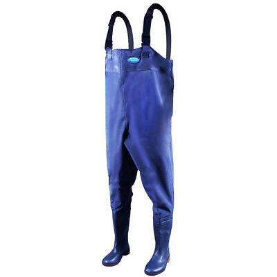 PVC Fishing Chest Waders Waterproof Hunting Boot Foot Protective Waders Pants