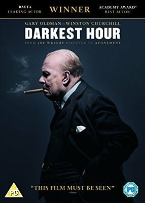 Darkest Hour DVD + Digital Download  with Gary Oldman New (DVD  2017)