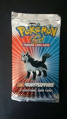 Pokemon TCG EX Ruby and Sapphire booster pack