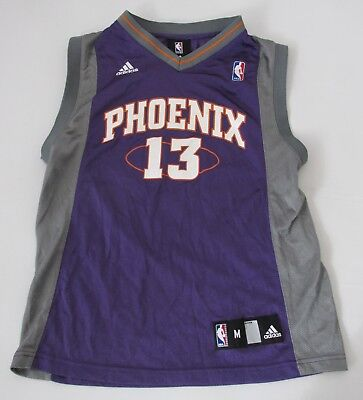 c3d3411b6420 ... steve nash 13 phoenix suns nba youth unisex adidas basketball jersey md