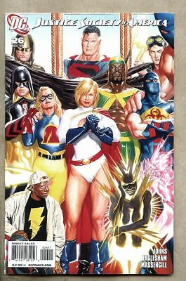 Justice Society Of America #26-2009 nm Alex Ross Variant cover Power Girl JSA