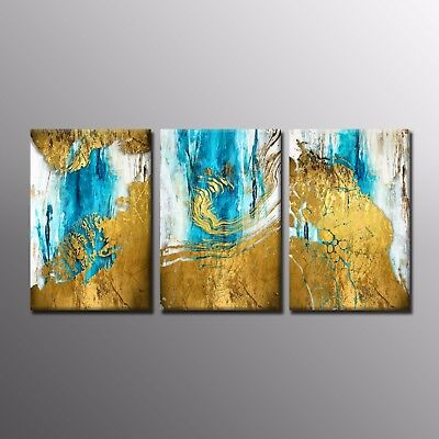 Modern Canvas Print Colorful Canvas Oil Painting Wall Art Picture Home Decor 3pc