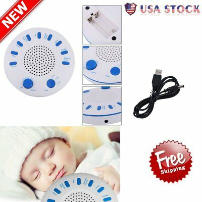 New Sound Spa Sleep Solution Relax Machine White Noise Nature Peace Therapy EK