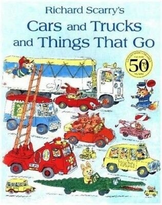 Cars and Trucks and Things that Go von Richard Scarry (Buch) NEU