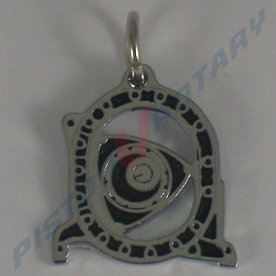 ROTOR HOUSING Charm Pendant New for Rotary Mazda RX7 RX5 RX8 Necklace Engine