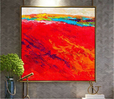 """YA775 Modern Abstract Hand-painted Decor oil painting on canvas No Frame 24""""x24"""""""