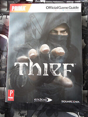 brand new thief prima official game guide xbox 360 play station rh picclick co uk Prima Official Strategy Guides Prima Game Guides Website