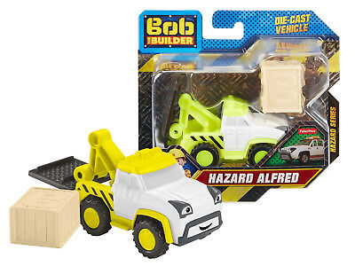 Bob The Builder Hazard Alfred Die Cast Vehicle Hazard Series New in Package