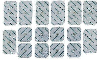 TENS Electrodes Combo-Set for Beurer, Sanitas 8 Square & 8 Large 3.5mm Stud Pads