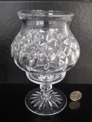 Cut Crystal Glass Hurricane Lamp