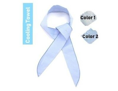 JP Summer Cooling Towel for Baby Kids Adults Soft Touch Reusable Cooling Scarf