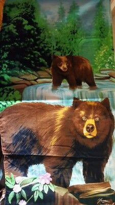 "Beach Mania 30"" x 60"" Bears Beach Towel - New"