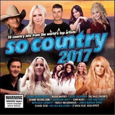 So Country 2017 Various Artists 2 Cd New