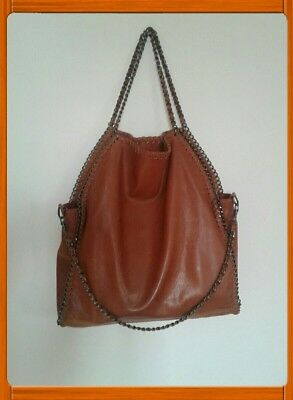 👜Borsa Bag STELLA Pelle Leather 3 Catene 👜